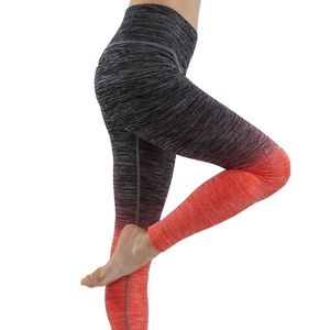Ombre compression leggings full length
